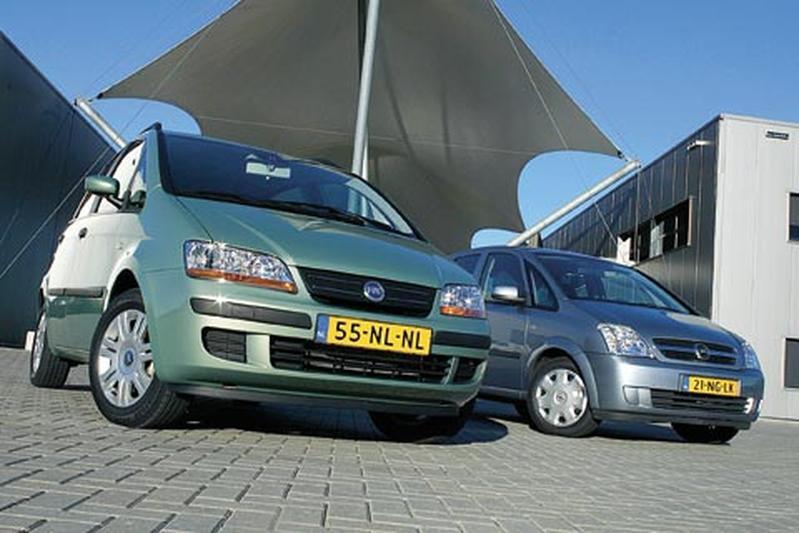 Opel Meriva 1.6 16v Enjoy – Fiat Idea 1.4 16V Dynamic Plus