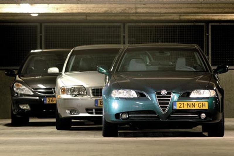 Alfa 166 2.4 JTD 20V Distinctive – Volvo S80 2.4 D5 Elite – Peugeot 607 2.2 HDi