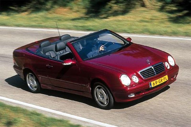 Mercedes-Benz CLK 230 Kompressor Elegance Cabrio (2001)