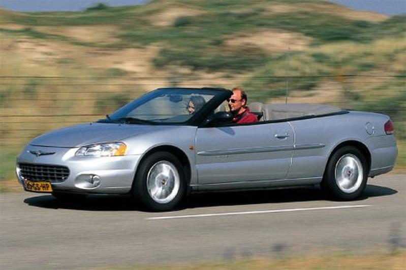 chrysler sebring cabrio 2 7 v6 24v lx 2001. Black Bedroom Furniture Sets. Home Design Ideas