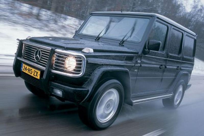 Mercedes Benz G 400 Cdi Lang 2002 Autoweek Nl
