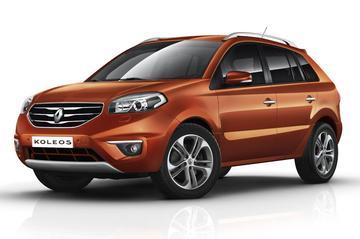 Renault Koleos in 't nieuw