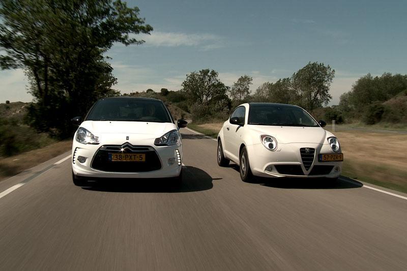 Citroën DS3 1.6 e-HDi vs Alfa Romeo Mito 1.3 JTDm