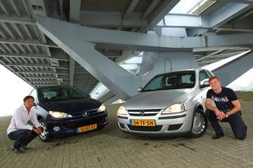 Opel Corsa 1.3 CDTI (2006) - Peugeot 206 1.4 HDI (2005)