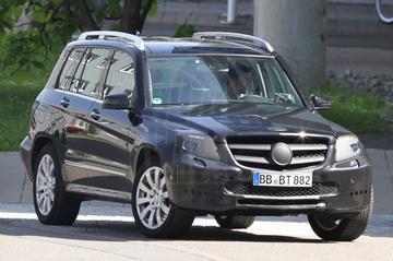 Mercedes GLK volgend jaar opgefrist