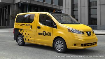 Nissan baalt: ook hybrides New York Taxi