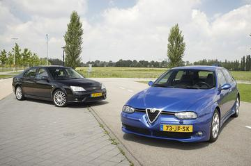 Ford Mondeo ST220 (2003) – Alfa Romeo 156 SW GTA (2002)