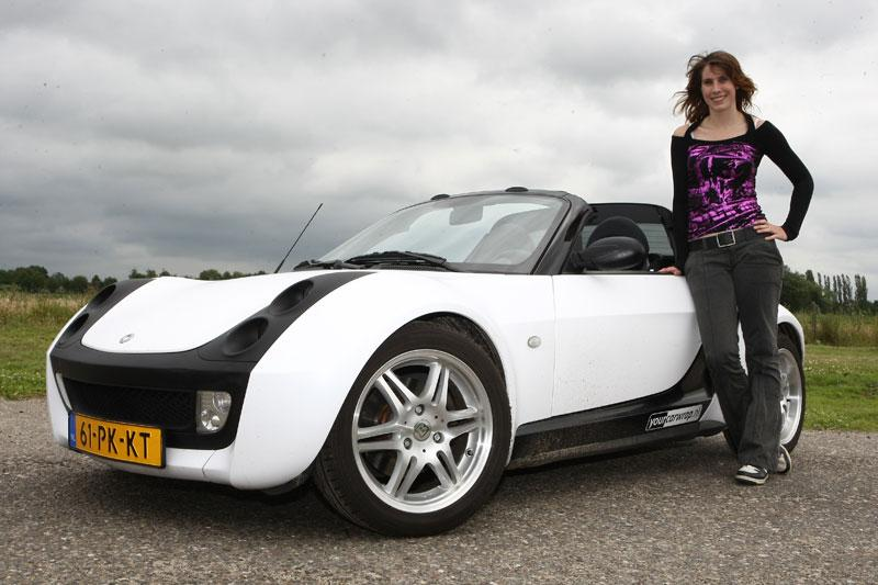 Klokje rond Smart Roadster