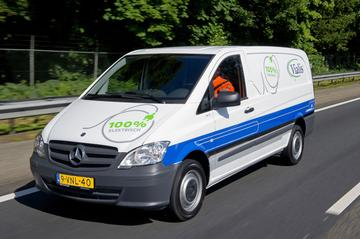 Eerste elektrische Vito's in Nederland