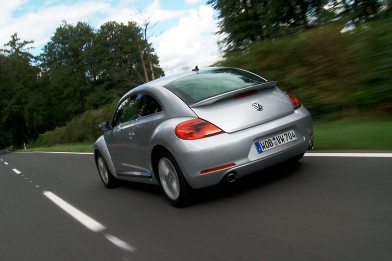 Rij-impressie Volkswagen Beetle