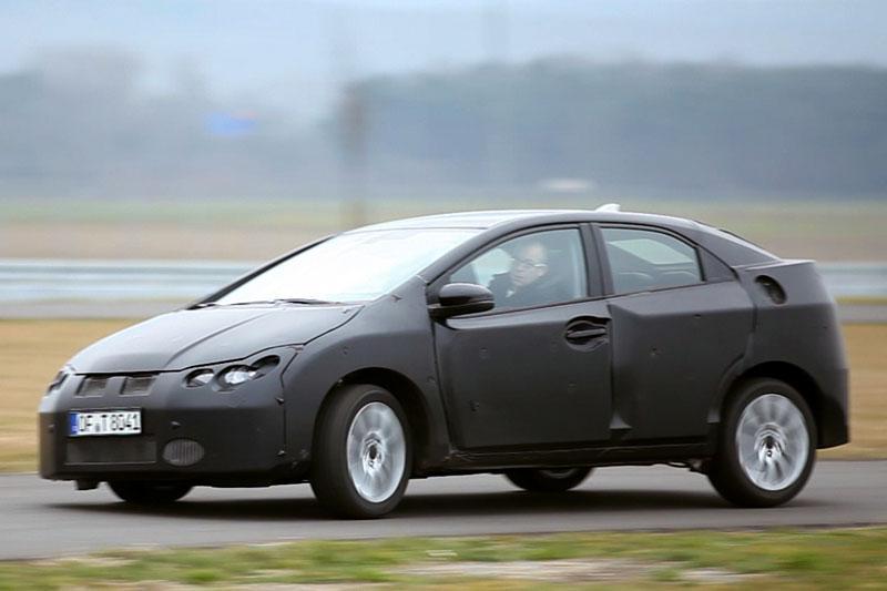 Honda geeft openheid van zaken over nieuwe Civic