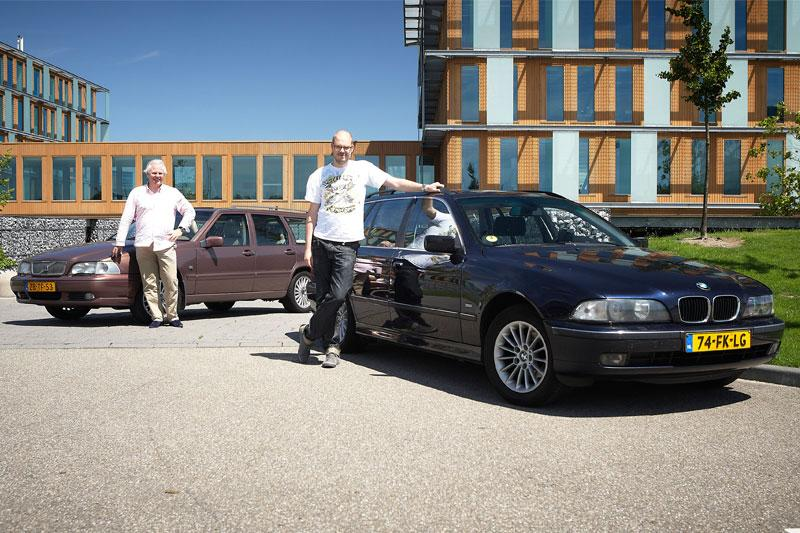 Occasion dubbeltest BMW 5-serie touring vs. Volvo V70