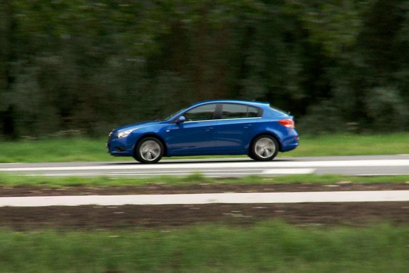 Rij-impressie Chevrolet Cruze hatchback
