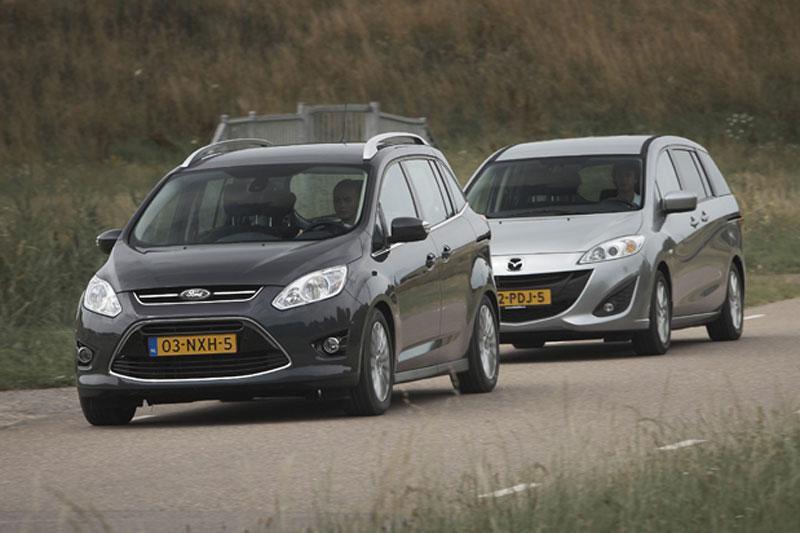 Mazda 5 1.6 CiTD - Ford Grand C-Max 1.6 TDCI