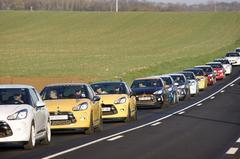Internationale Citroën DS3-meeting