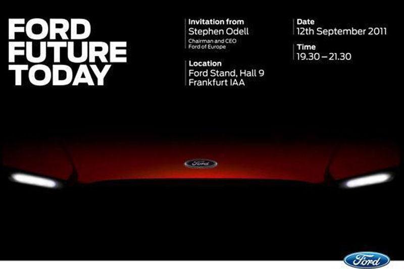 Ford-toekomst begint vandaag met teaser