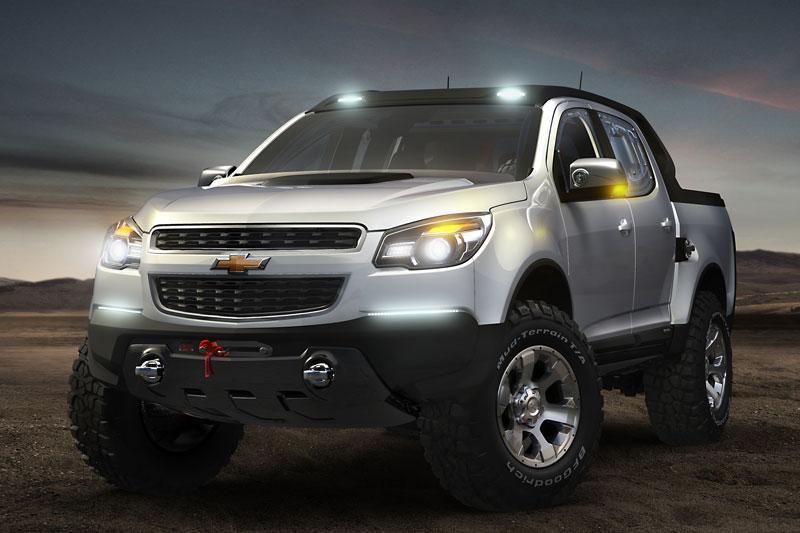 Chevrolet met Miray en Colorado Concepts op IAA