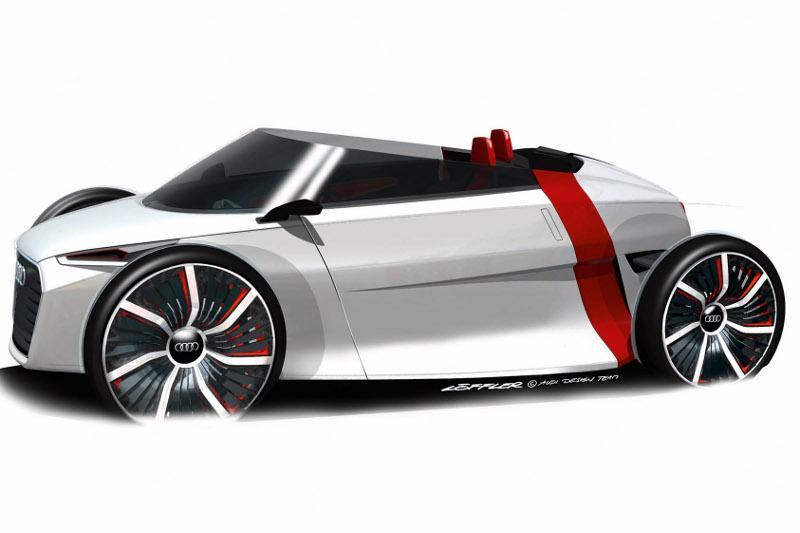 Audi Urban Spyder: dakloos in de grote stad