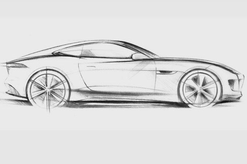 Eerste officiële schets Jaguar C-X16 Concept