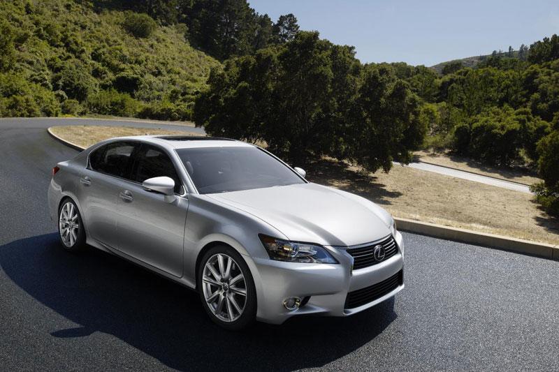 Nu officieel: de Lexus GS, hier alleen als hybride