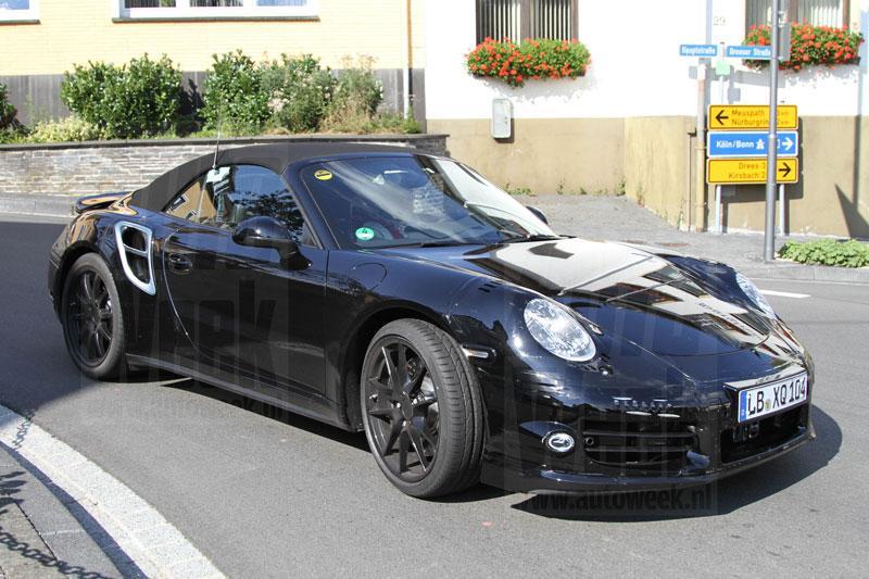 Nieuwe generatie Porsche 911 Turbo Cabrio gesnapt!