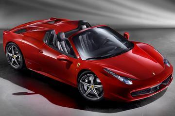 Zonnekracht: Ferrari 458 Spider
