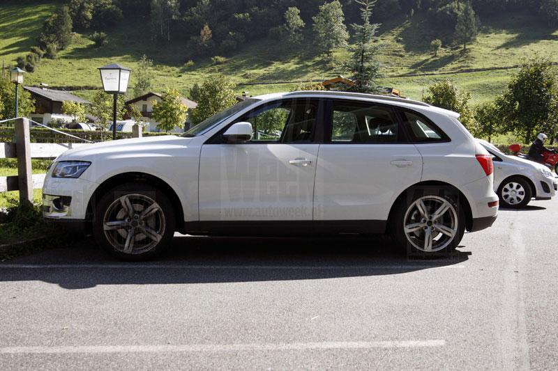Audi in de Alpen zet een S achter Q5