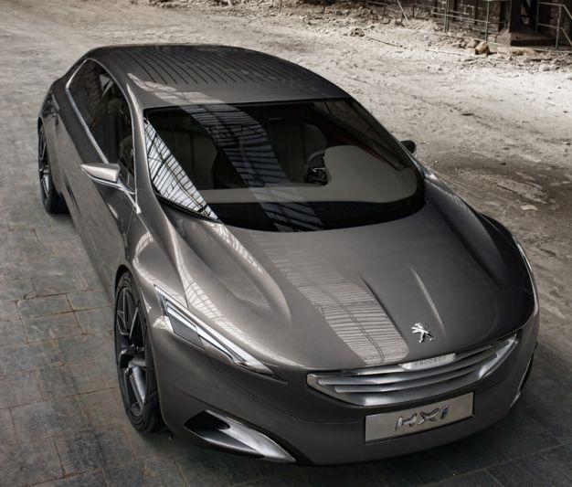 Peugeot HX1 concept: mogen wij 608 zeggen?