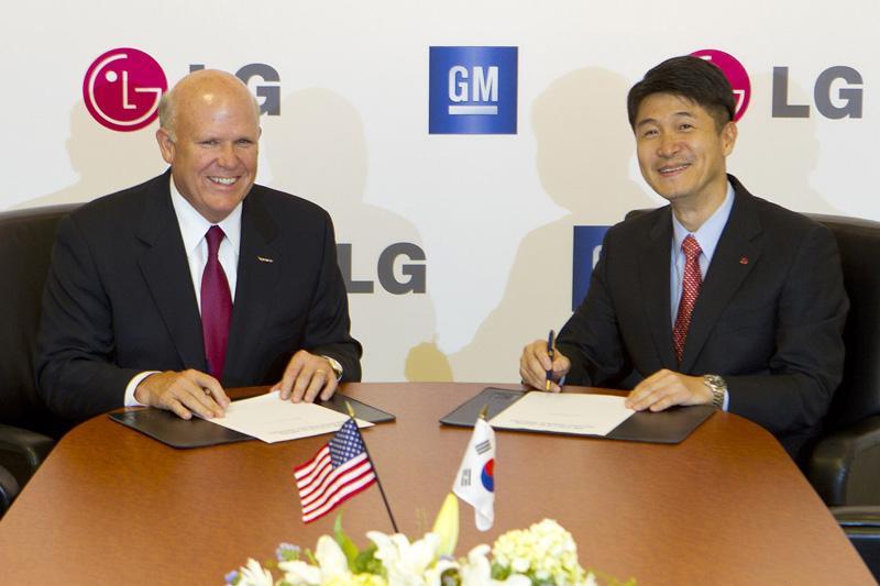 GM en LG doen samen EV's