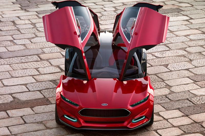 Ford Evos Concept toont design van de toekomst