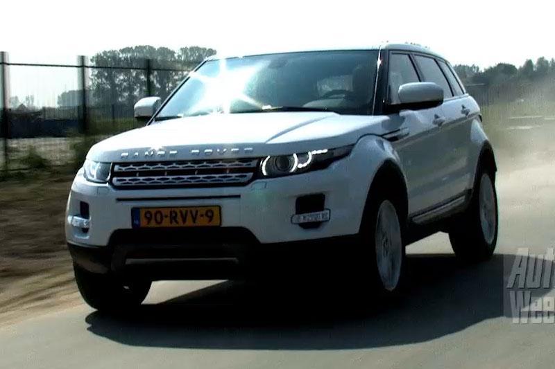 Rij-impressie Range Rover Evoque