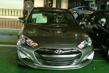 Veloster-neus voor Hyundai Genesis