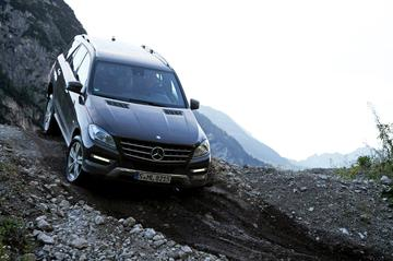 Rij-impressie Mercedes-Benz M-klasse