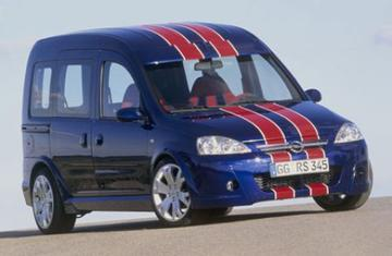 Opel Combo Tour Eau Rouge