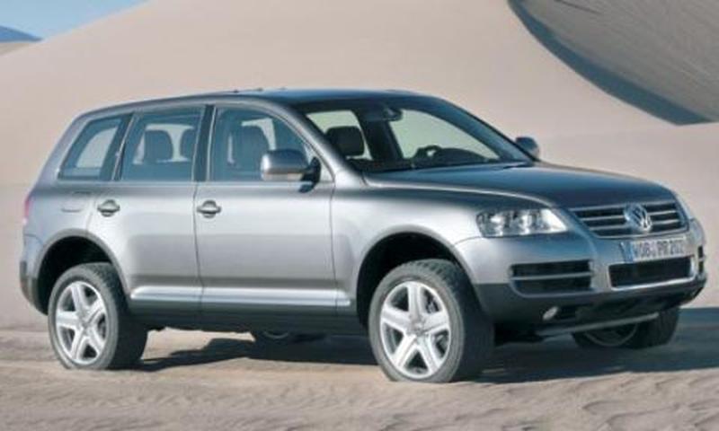 Volkswagen Touareg startklaar