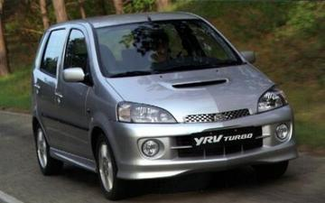 Daihatsu Young RV met Turbo power