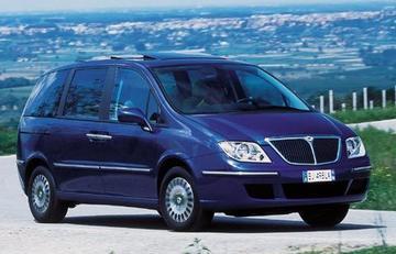 Lancia Phedra vanaf ca. € 35.