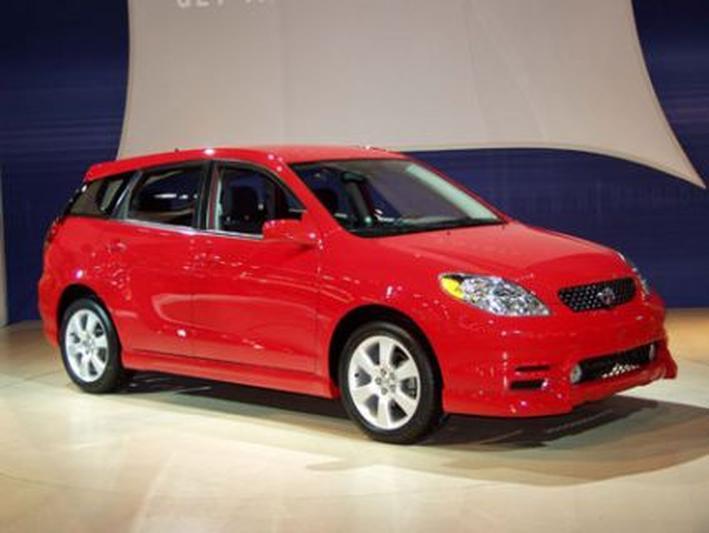Toyota Matrix productieversie