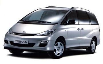 Toyota Previa vernieuwd