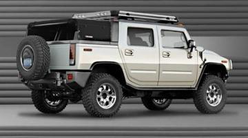 Pickup-versie Hummer H2