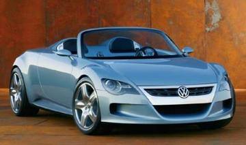 Roadster-concept van Volkswagen