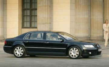 Lange versie van Volkswagen Phaeton