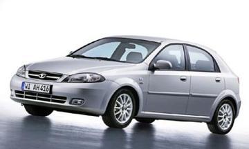 Nieuwe Daewoo hatchback: de Lacetti