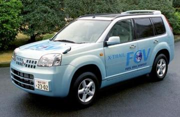 Nissan X-Trail met brandstofcel