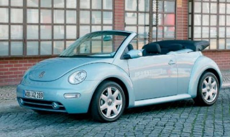 New Beetle Cabrio startklaar