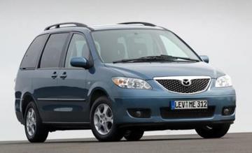 Opnieuw facelift voor Mazda MPV