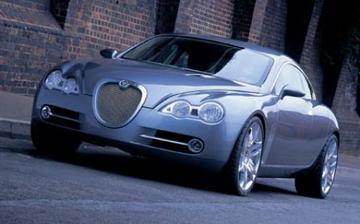 Compacte 4-deurs coupé van Jaguar