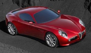 Bloedmooi: Alfa sportwagenstudie
