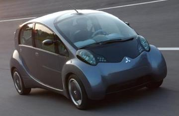 3-liter auto van Mitsubishi
