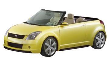 Sportcabrio-studie van Suzuki